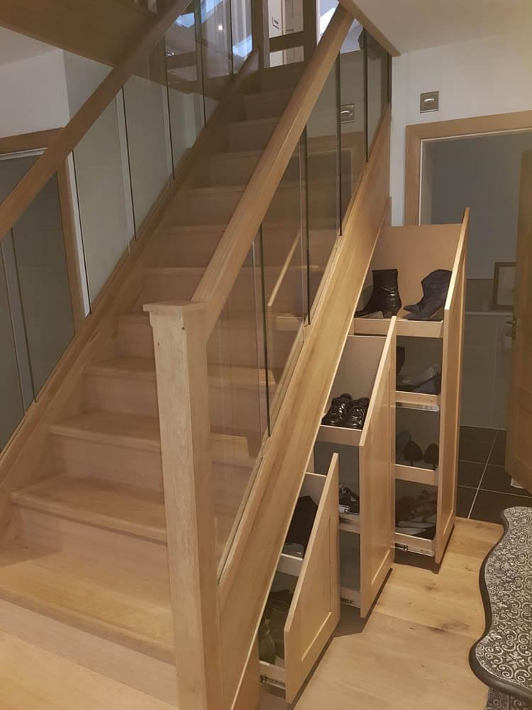 Storage-under-stairs-in-a-house-in-twickenham