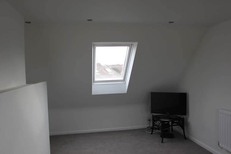 complex low ridge conversion in house in watford 1