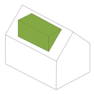 Single Flat Roof Dormer