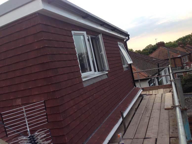 Hip to gable loft conversion Beckehnam