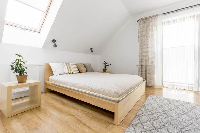 hip to gable loft conversion in house in harrow 1