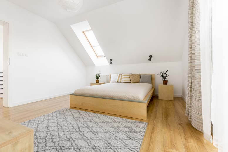 hip to gable loft conversion in house in harrow 2
