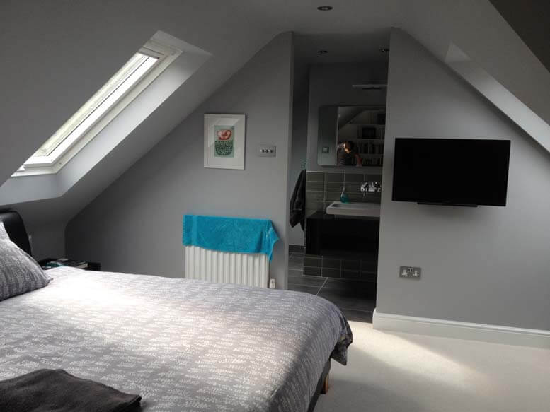 hip to gable loft conversion in raynes park sw20 3