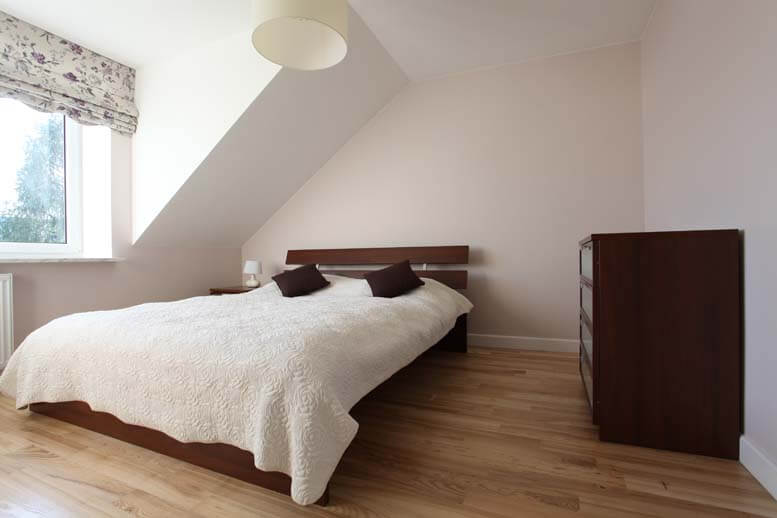 l shaped loft conversion in house in ealing