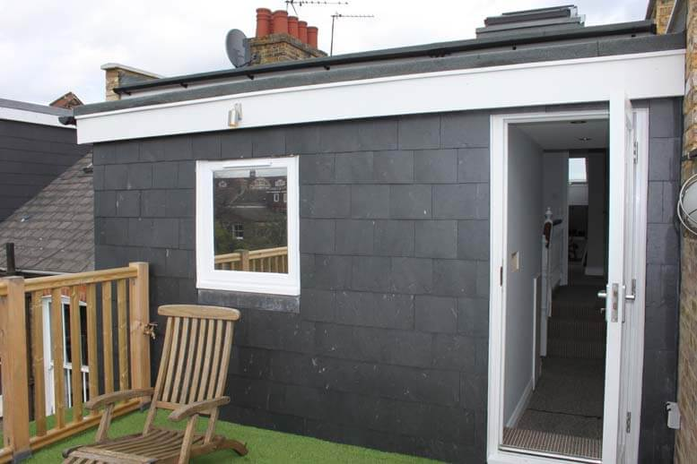 l shaped loft conversion in house in queens park 1