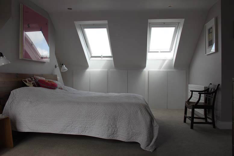 l shaped loft conversion in house in queens park 2