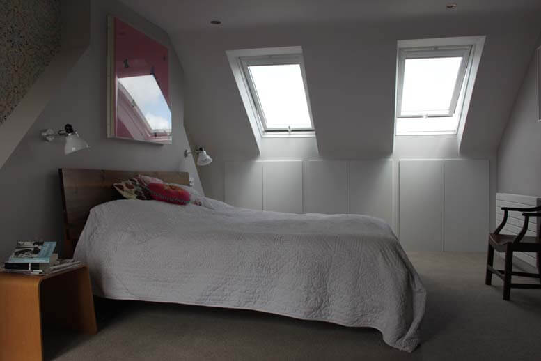 l shaped loft conversion in house in queens park 3