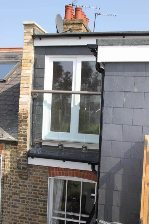 l shaped loft conversion in house in queens park 6