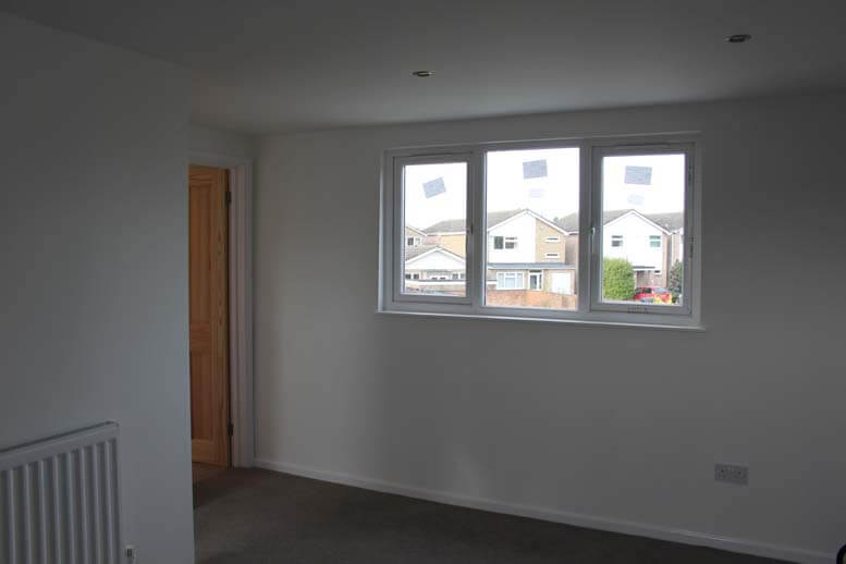 Low ridge loft conversion in St Albans property