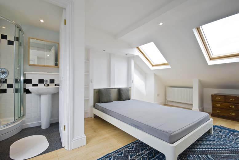 Rear flat roof dormer in house in Balham