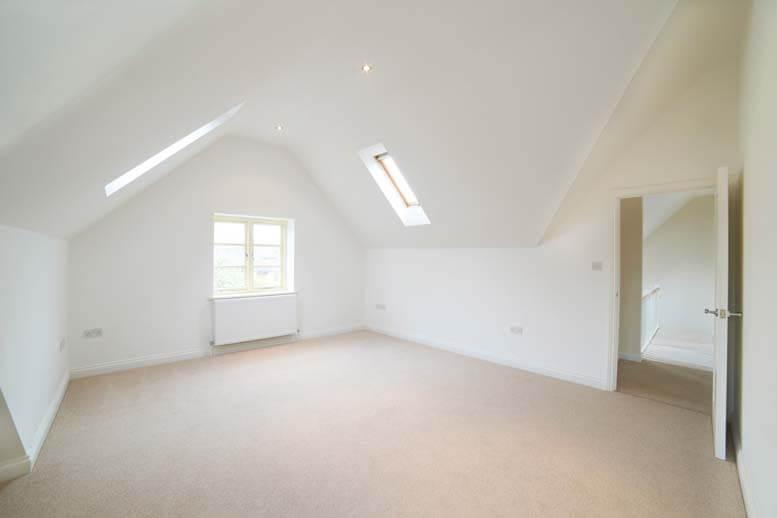 Rooflight loft conversion in house in Islington