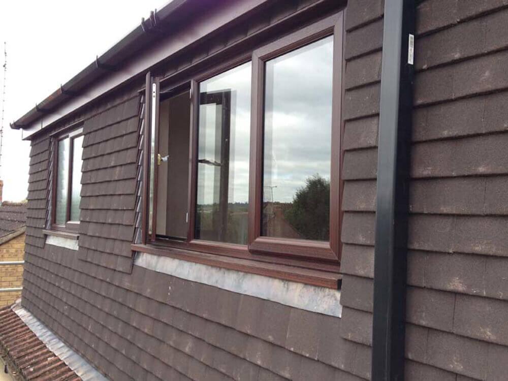 Flat roof loft conversion in home in Southfields SW18