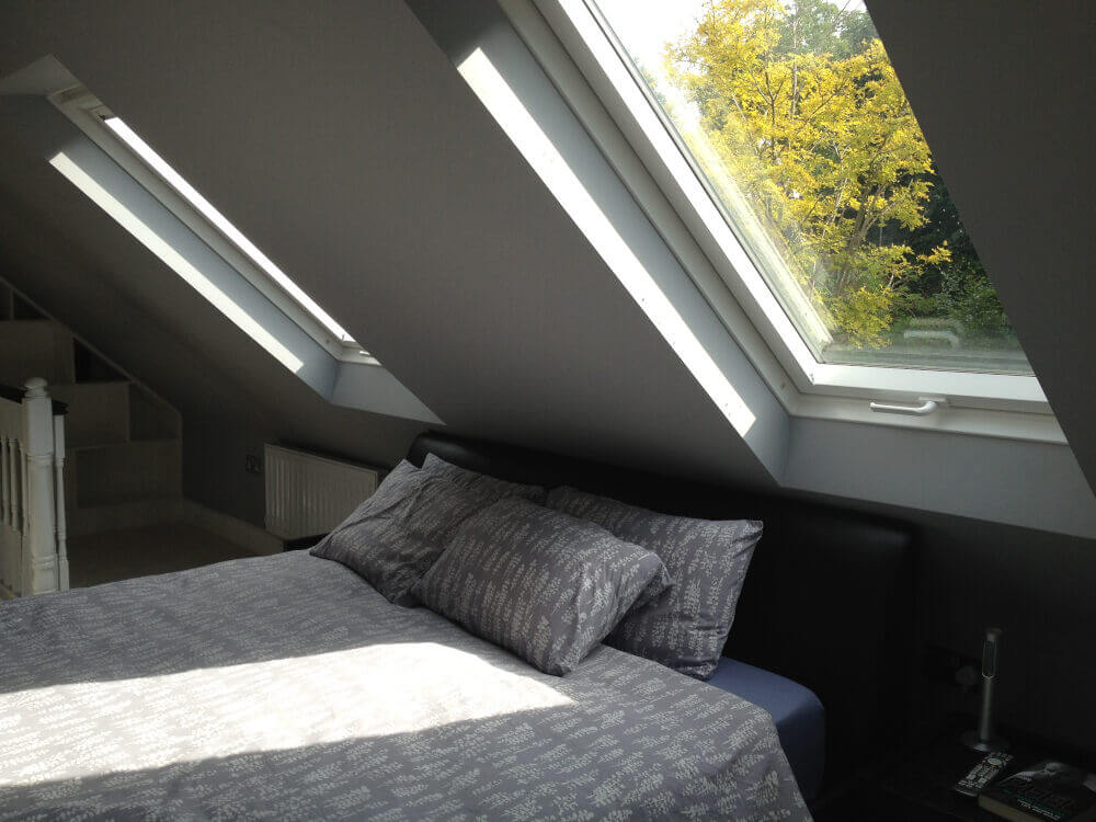 Hip to gable loft conversion in Raynes Park SW20