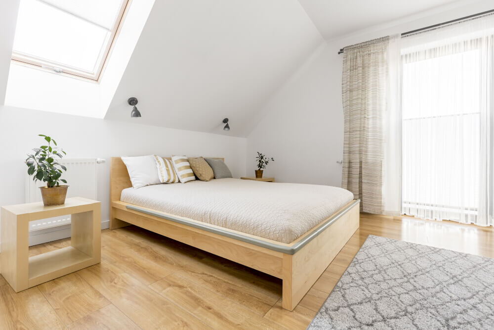 Hip to gable loft conversion in house in Harrow