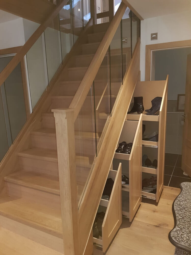 Hip to gable loft conversion stairs in Barnet