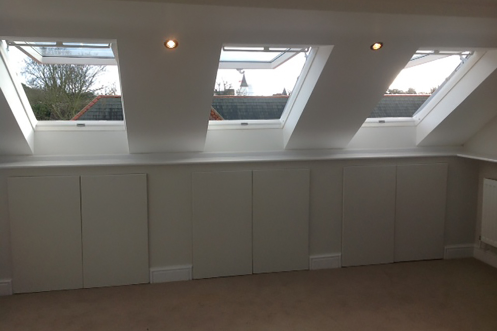 Rooflight velux loft conversion
