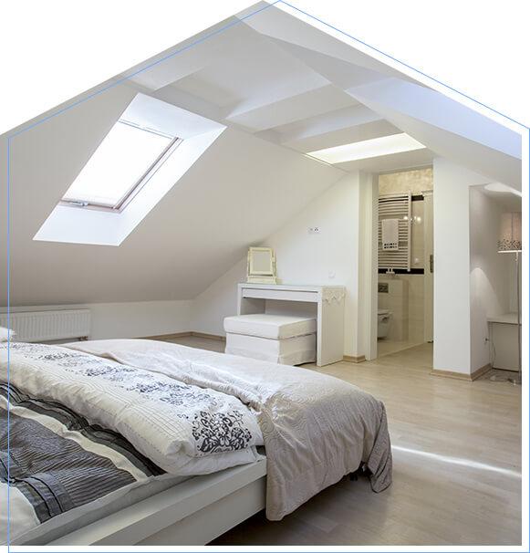Touchstone Loft Conversion Velux windows in St Albans