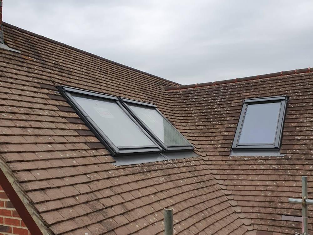 Rooflight velux loft conversion
